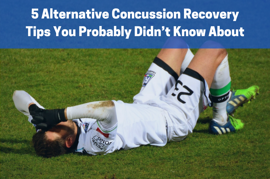 Concussed Soccer Player